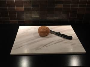 Bilde av Bakeplate/skjærebrett i Ariston marmor, 50*40