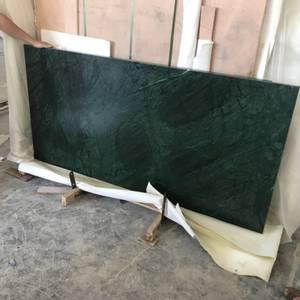 Bilde av Marmorbord i Green Verde i 100 cm * 100 cm med understell