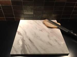 Bilde av Bakeplate/skjærebrett i Ariston marmor, 30*20